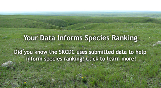 Your data informs species ranking.